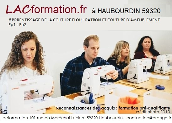 formation couture d'ameublement 2021